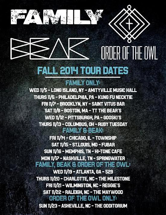 beak.fam.tour